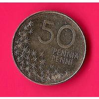 31-38 Финляндия, 50 пенни 1990 г.
