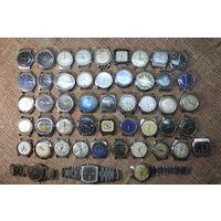 2. Коллекция наручных часов (многие на ходу). С РУБЛЯ! АУКЦИОН!
