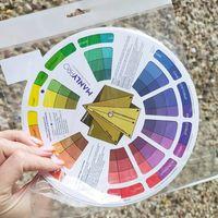 Цветовой круг визажиста Manlypro