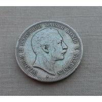 Германия (империя), 5 марок 1908 г., серебро, Вильгельм II (1888-1918)