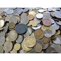Более 5 кг. монет мира (есть СССР). Всё с 5 рублей!!!
