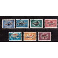 СССР-1958, (Заг.2098-2104)  гаш., Самолеты