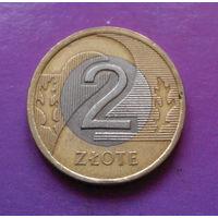 2 злотых 1995 Польша #09