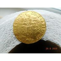 Дукат 1769 г. Нидерланды (оригинал)