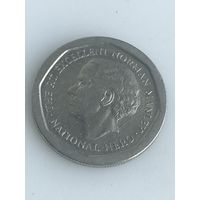 5 долларов 1995 г., Ямайка