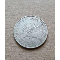 Камерун 100 франков 1975 (Cameroon 100 francs 1975)