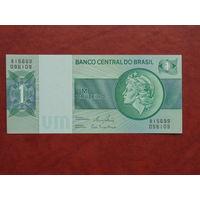 Бразилия 1 крузейро 1972 года UNC.