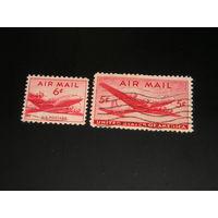 США Авиапочта 1946-47 (4)
