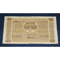 Финляндия 10 Марок 1939