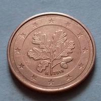 2 евроцента, Германия 2018 A, AU