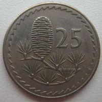 Кипр 25 милей 1971 г. (u)