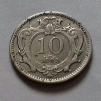 10 геллеров, Австро-Венгрия 1893 г.