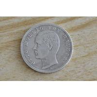 Германия,Бавария 5 марок 1899