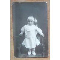 Фото ребенка. 1920-е. 8.5х13.5 см