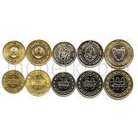 Бахрейн 5 монет 2010-2012 года