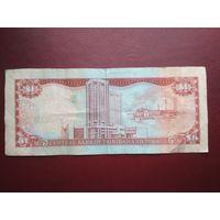 Банкнота 1 доллар. Тринидат и Тобаго. 2006 г.