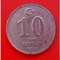36-31 Турция, 10 куруш 2005 г.