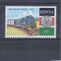 [415] Кения 1988. Поезда,локомотивы.