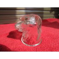 Пробка (крышка) для бутылки. Голова медведя.