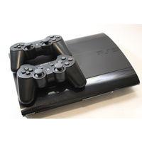 Игровая приставка Sony PlayStation 3 Super Slim 12GB + 2 геймпада
