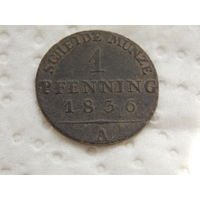 1/360 талера 1836 г. ( пфеннинг )