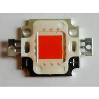 Светодиодная матрица 10 Вт. Красный цвет 620-630 nm.