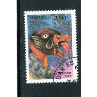 Танзания.Ми-1859. Серия хищные птицы.Королевский гриф.1994.