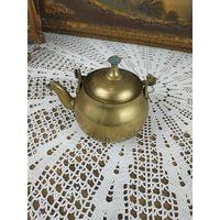 Чайник малый заварный латунь