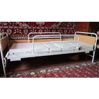 Кровать медицинская функциональная КРМК4 с матрасом
