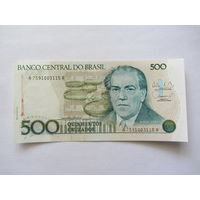 Бразилия, 500 крузейро.