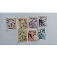 Латвия 1992 7м