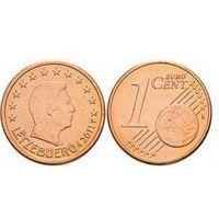 1 евроцент 2011 Люксембург UNC из ролла