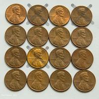 1 цент США 1979. Поштучно