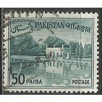 Пакистан. Сады в Лахоре. Плотина. 1961г. Mi#145.