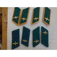 Петлицы ВВС + колодки