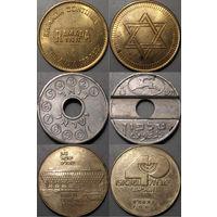 Израиль, телефонный и другие жетоны