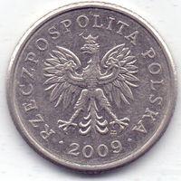 Польша, 20 грошей 2009 года.