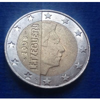 Люксембург 2 евро 2008
