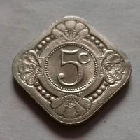 5 центов, Нидерландские Антильские острова, (Антиллы) 1965 г.