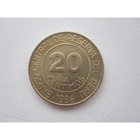 20 Сентимо 1986 (Перу)