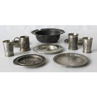 Kоллекционный набор из олова Германия 50года!!