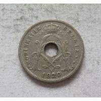 Бельгия 5 сантимов 1920 KONINGRIJK BELGIЕ