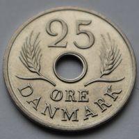 Дания, 25 эре 1969 г