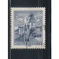 Австрия Респ 1962 Вып Туризм Зальцбург #1114