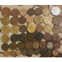 45 старых монет до 1957 года
