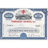 FOREMOST DAIRIES, Inc., США
