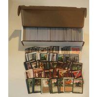 1000+ карт магии - Magic: The Gathering в коробке. Случайные карты, на русском. Выпуски от 2010 до последнего. Новые, в хорошем качетсве. Случайный набор карт.