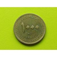 Иран. 1000 риалов 2012 (1391) - Мавзолей Шах-Черах в Ширазе.