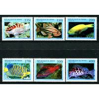 Бенин - 1997г. - Рыбки - полная серия, MNH [Mi978-983] - 6 марок
