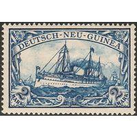 Германия Колонии Новая Гвинея 1900 Яхта Гогенцоллерн Стандарт DR-NG 17 MLH